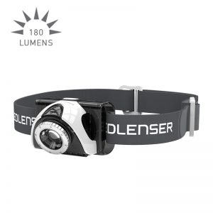 Ledlenser SEO5 Headlamp - grey