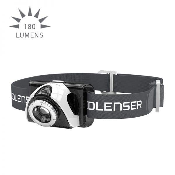 Ledlenser SEO5 Headlamp - grey
