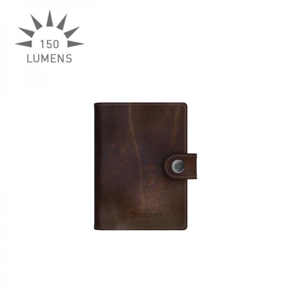 Lite Wallet closed (brown)