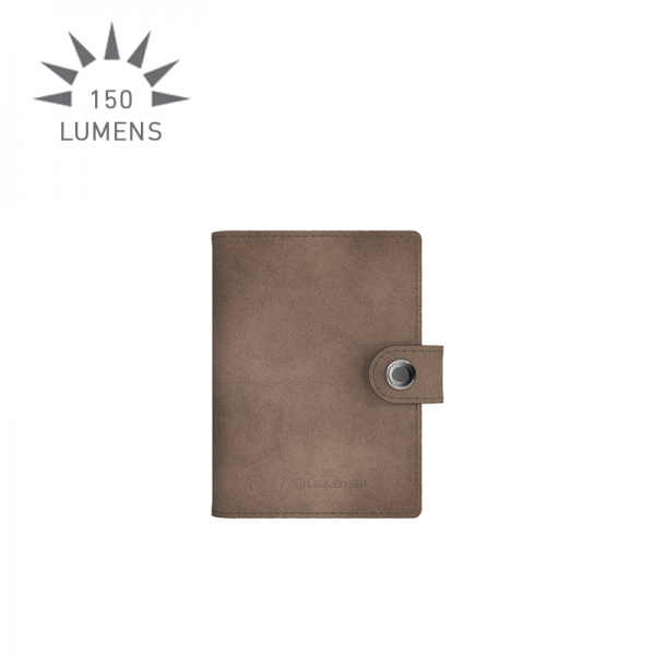 Lite Wallet closed (taupe grey)